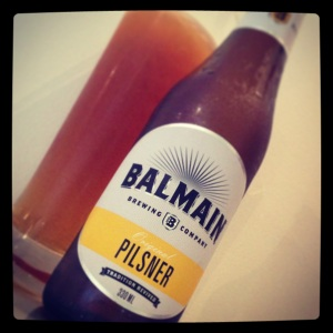 Balmain's rather nice Pilsner