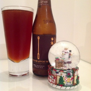 endeavour reserve amber ale 2011