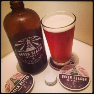 Green Beacon squealer and Windjammer IPA