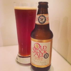 north coast brewing old stock ale 2012
