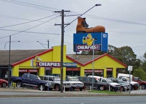 The Big Boot, 621 Gympie Road, Chermside (2010)