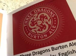 noisy minor three dragons burton ale