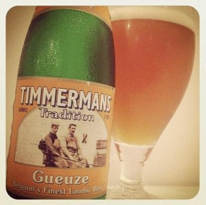 My first ever lambic - Timmermans Tradition Gueuze