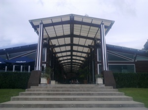 The grand entrance to the MT Brewery complex