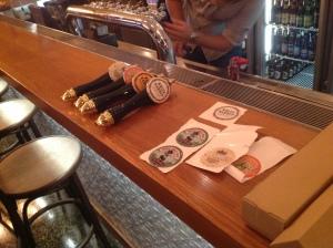 Embassy Craft Beer Bar work in progress
