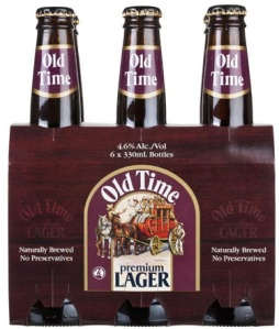 Old Time Brewing Premium Lager (courtesy of Old Time Brewing)