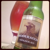 MT Brewery Moderation Golden Ale