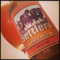 MT Brewery Settlers Wheat Beer