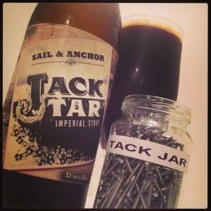 When Jack Tar met my tack jar