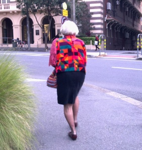Brisbane's most hippest Hipster Granny