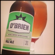 O'Brien gluten free pale ale