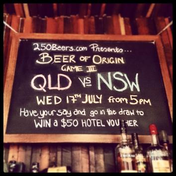 Beer of Origin 3 at Platform Bar