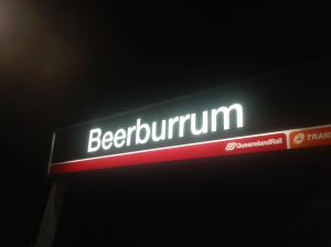 beerburrum station sign