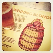 Beer Here Whining Blonde