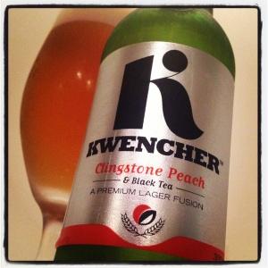 Kwencher Peach & Tea Lager (4.2%)