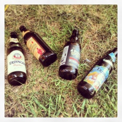 Discarded empties
