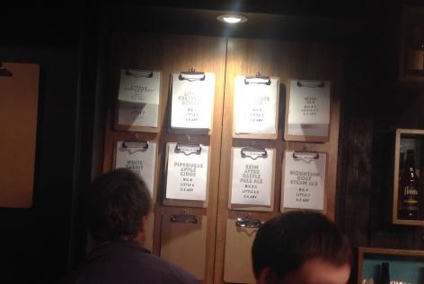 Quirky clipboard tap menus