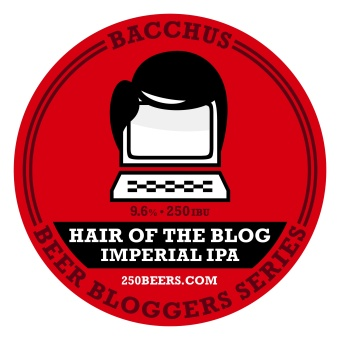 My tap decal for Hair of the Blog