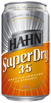 Hahn Super Dry 3.5 Can