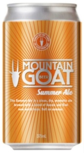Mountain Goat Summer Ale can NEW