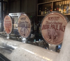 Newstead Brewing Co taps