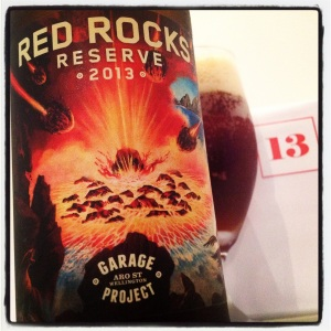 December 13th - Garage Project's (NZ) Red Rocks Reserve 2013 (7.0%)