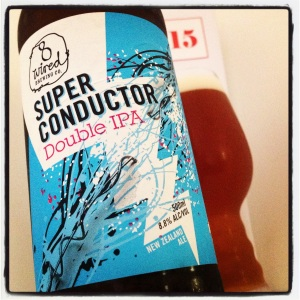 Box 15 - Super Conductor Double IPA (8.8%) from 8 Wired (NZ)