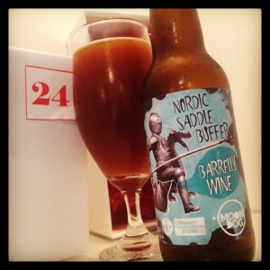 24th December - Nordic Saddle Buffer Barrelly Wine (14.6%) by Moon Dog (Vic)