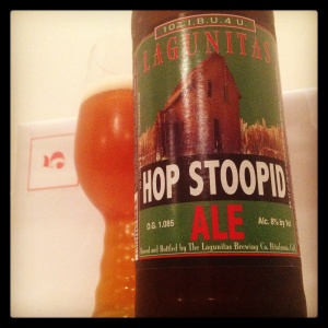 Day 5 - Hop Stoopid Imperial IPA 8.0% by Lagunitas Brewing Co. (USA)