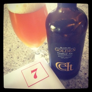 Day 7 - from Wales' Celt Experience: Golden (4.2%)
