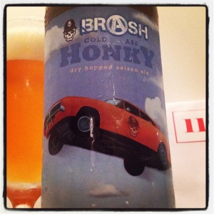 Box 11 - Brash Brewing Co's (US) Cold Ass Honky saison (8.5%)