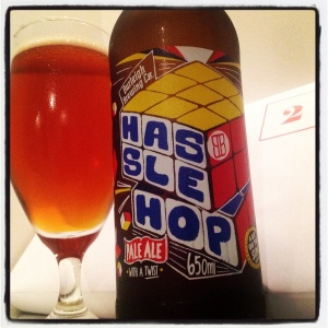 Day two - Hassle Hop pale ale 5.5% by Burleigh Brewing (QLD)