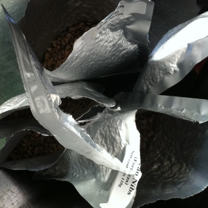 450g of cacao nibs. From this...