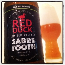 red duck sabre tooth