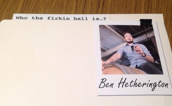 Ben Hetherington Rocks Brewing