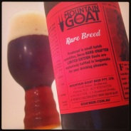 mountain goat rare breed india red ale