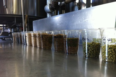 Stone Beer 2014 malts and hops