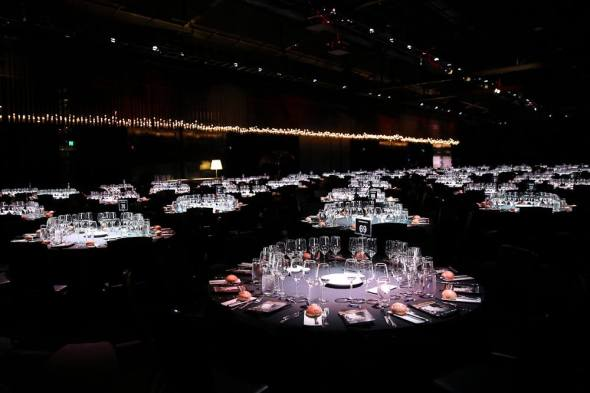 Fit for 750 people (photo courtesy of AIBA)