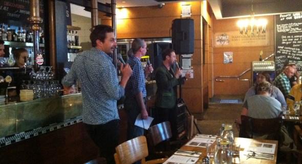 Beermen.tv (l-r) Steve, Todd and Mark