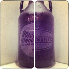 Fortitude Brewing Noisy Minor growler