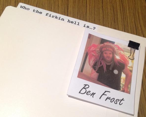 Ben Frost Crafty Ranga