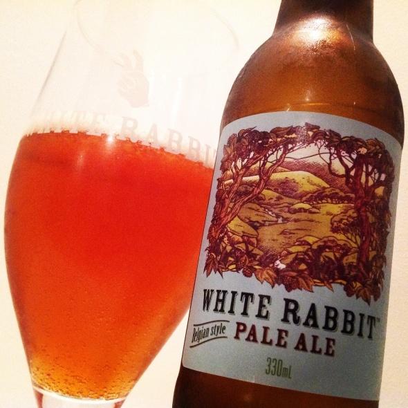 White rabbit belgian pale ale
