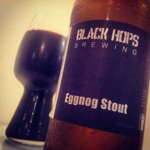 Black Hops Eggnog Stout