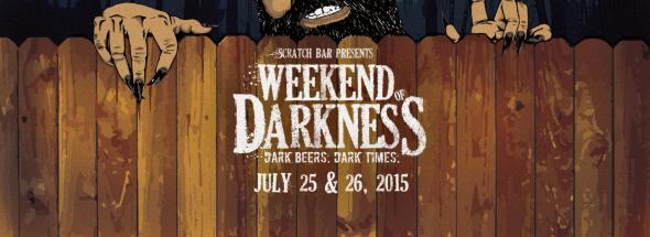 Weekend of Darkness banner